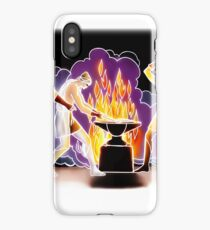 Aule's forges (Greek Mythology Style) iPhone Case/Skin
