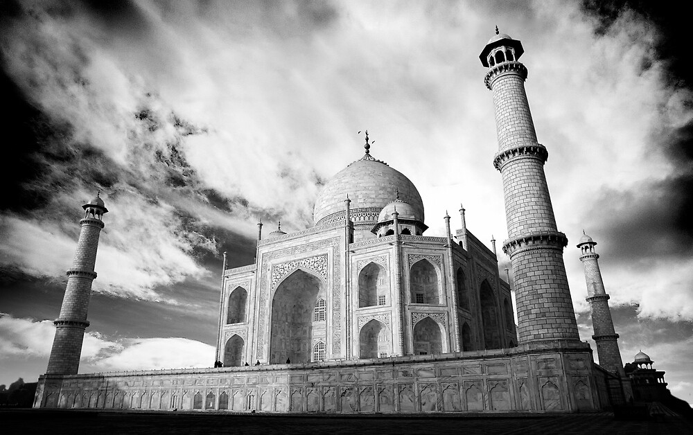 The Taj Mahal by Anthony Begovic