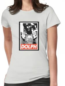 Young Dolph obey Womens Fitted T-Shirt