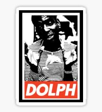 Young Dolph obey Sticker