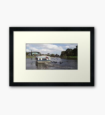 The River Torrens Framed Print