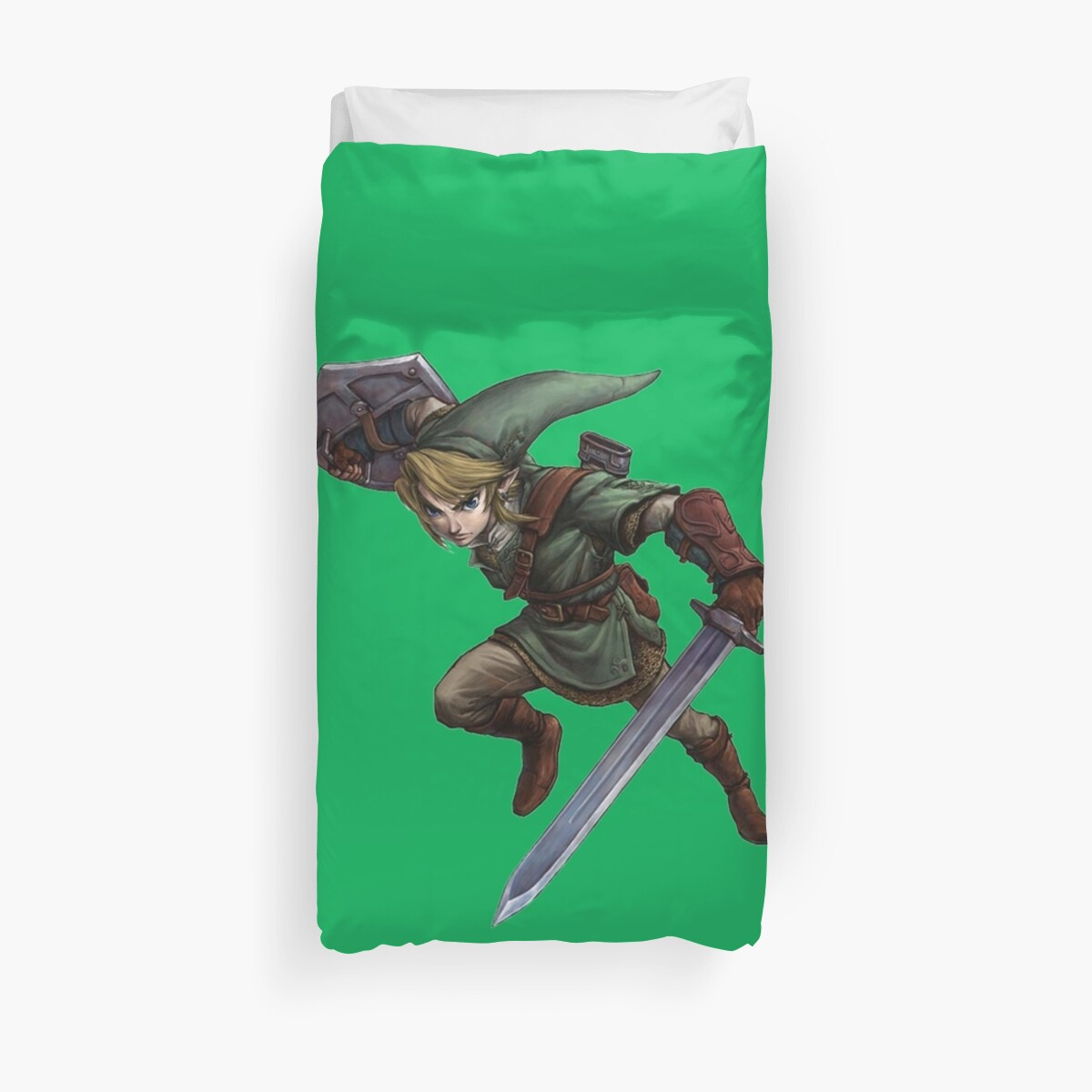 Quot Legend Of Zelda Link Quot Duvet Cover By Cicciokami Redbubble