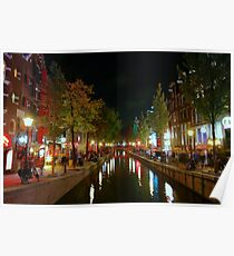 Red Light District, Amsterdam Poster
