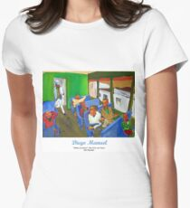 Tickets please! Women's Fitted T-Shirt