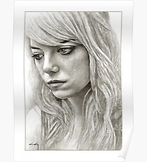 Emma Stone / Birdman Poster