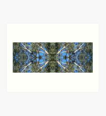 Gum Tree Kaleidoscope Art Print