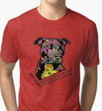 Pitbull BSL Black Tri-blend T-Shirt