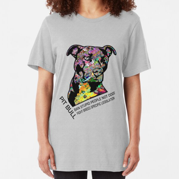 Pitbull BSL Black Slim Fit T-Shirt