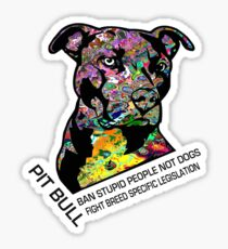 Pitbull BSL Black Sticker