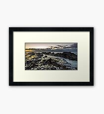 Lines of Time Framed Print