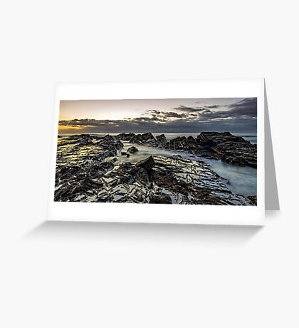 Lines of Time Greeting Card