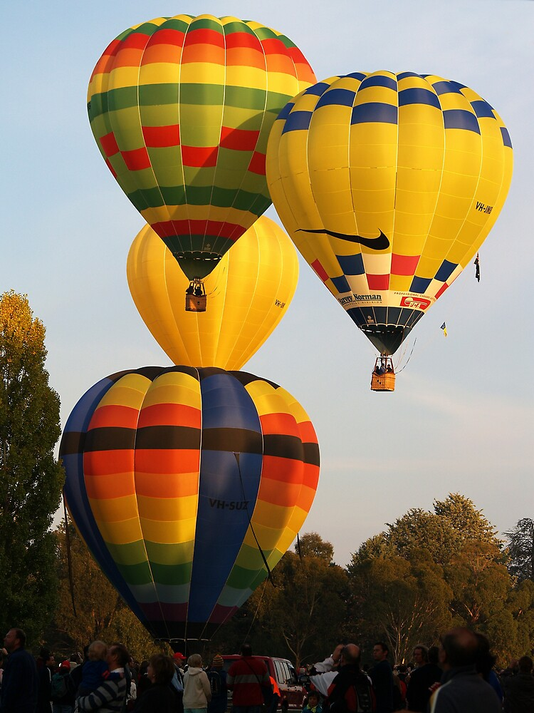 Hot Air Balloons by pbdz22