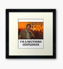 Jamie Foxx - I'm A Southern Gentlemen Framed Print