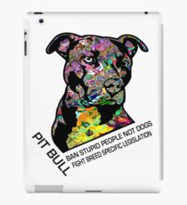 Pitbull BSL Black iPad Case/Skin