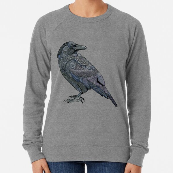 Celtic Raven Lightweight Sweatshirt