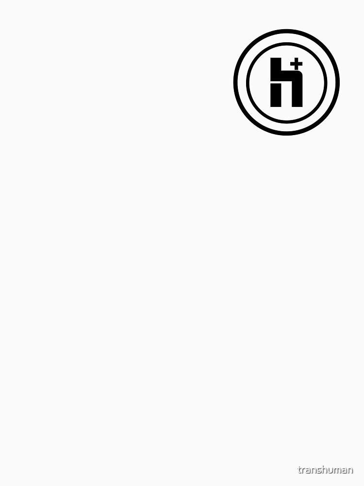 H Plus Circle Logo 3 by transhuman