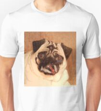 Pug with Glitter Unisex T-Shirt