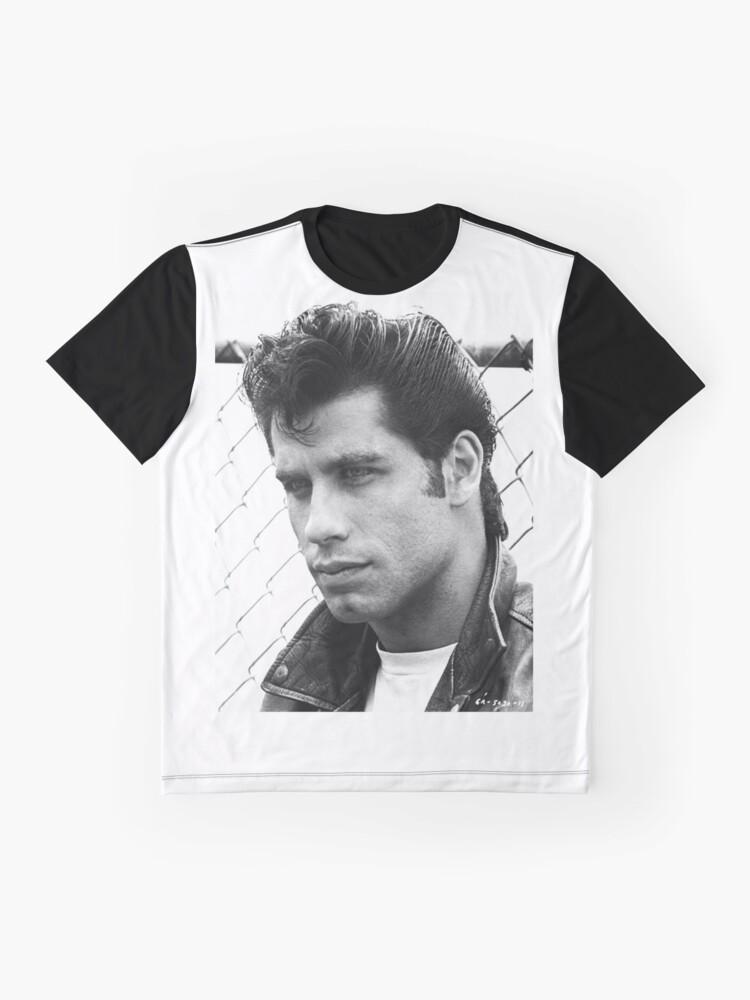 Alternative Ansicht von John Travolta Fett Grafik T-Shirt