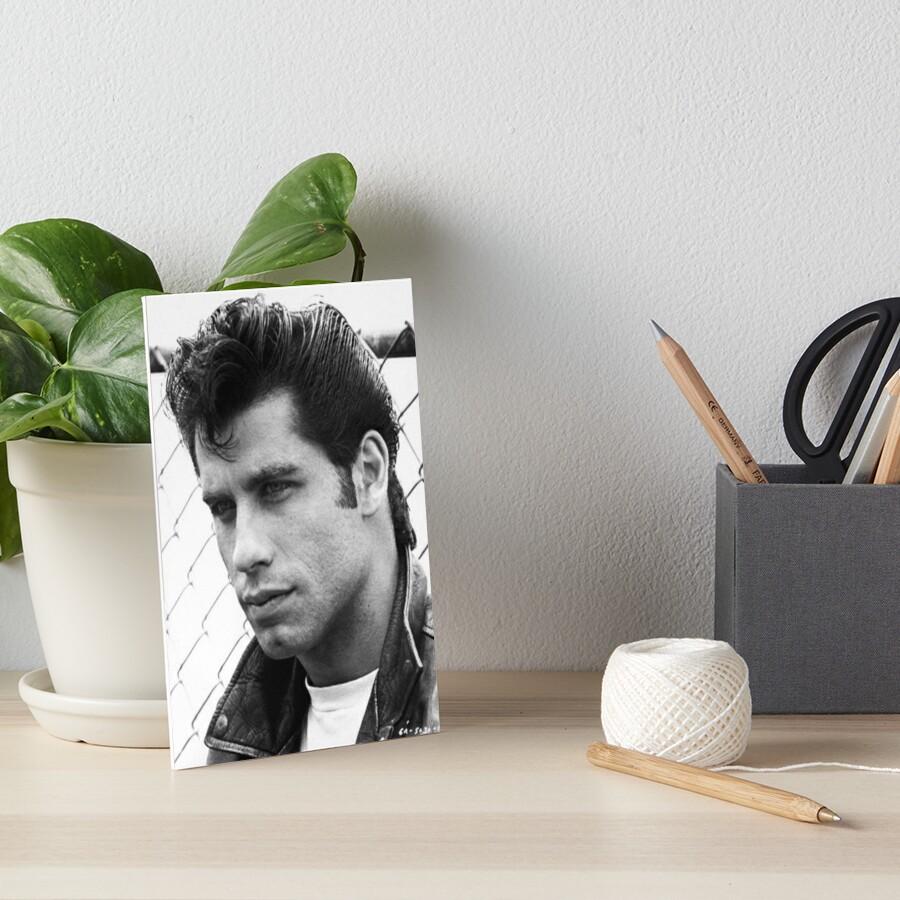 John Travolta Fett Galeriedruck