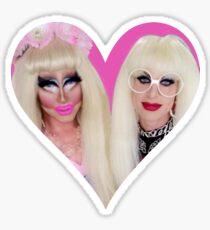 Trixie & Katya Sticker