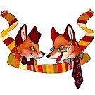 Fandom Foxes - Who? by Reaperfox