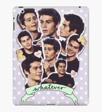 Dylan O'brien tumblr edit iPad Case/Skin