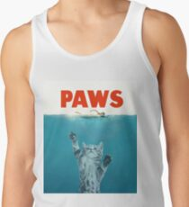Paws - Cat Kitten Meow Parody T Shirt Tank Top