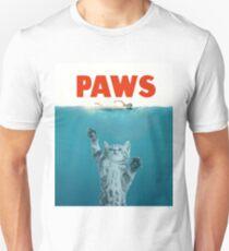 Paws - Cat Kitten Meow Parody T Shirt Unisex T-Shirt