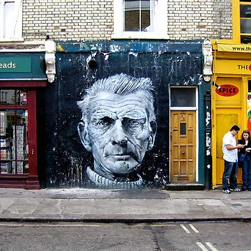 Samuel Beckett by cameronbarnett