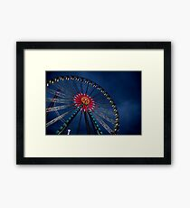 wheel of colour Framed Print