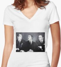 The Rat Pack Women's Fitted V-Neck T-Shirt