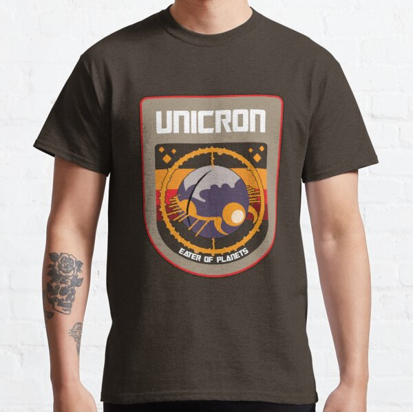 Unicron NASA Patch Classic T-Shirt