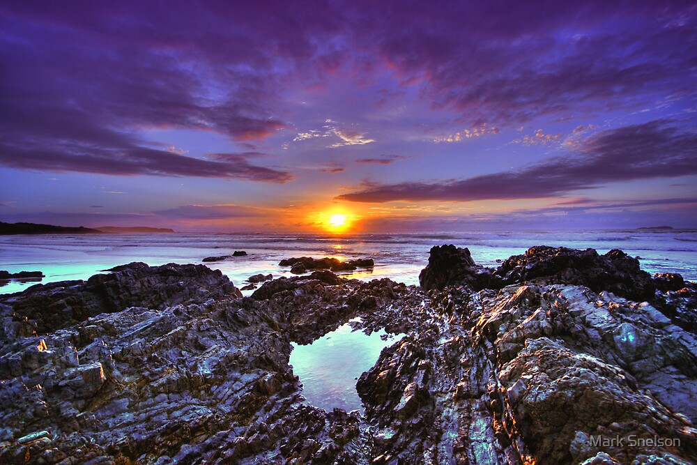 Emerald Beach Sunrise 2 by Mark Snelson