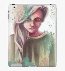 Creepy children iPad Case/Skin