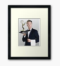 Neil Patrick Harris Emmy Framed Print