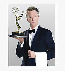 Neil Patrick Harris Emmy Photographic Print