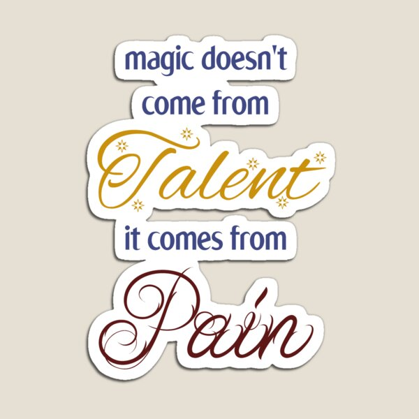 Not from Talent Magnet