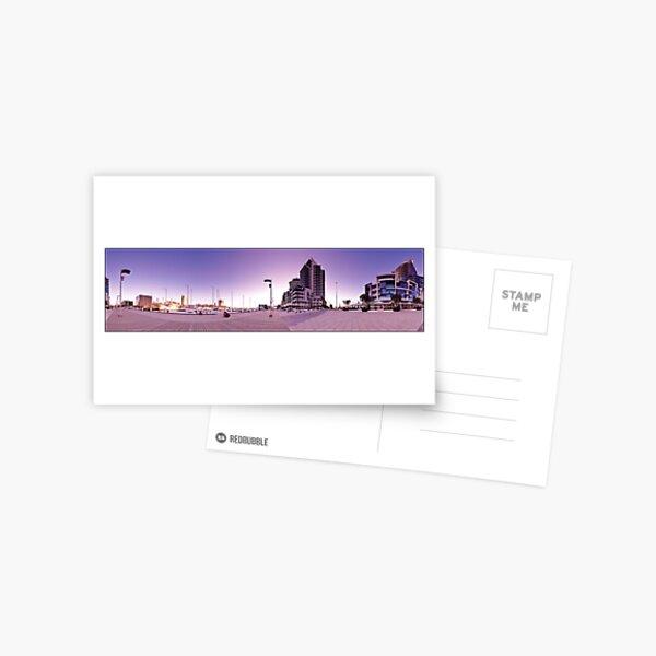 Dockland Sunset 360 Postcard