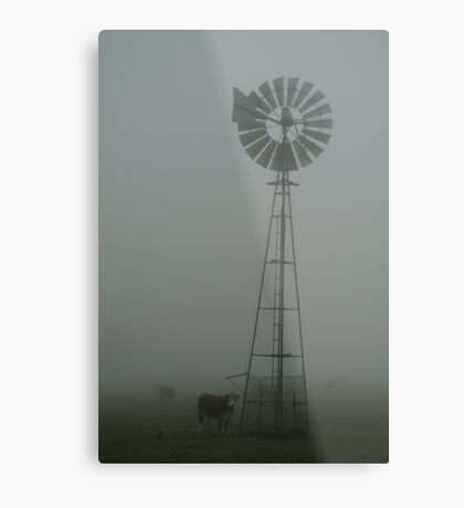 Windmill ,Macendon Ranges Metal Print