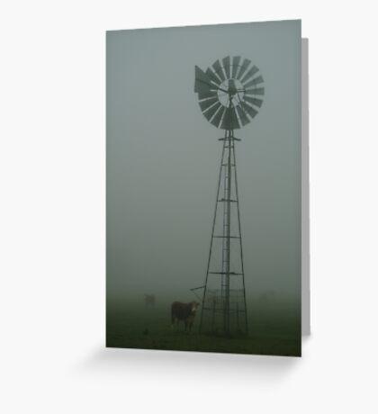 Windmill ,Macendon Ranges Greeting Card