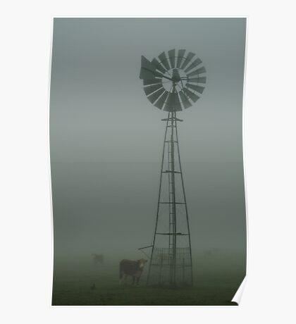 Windmill ,Macendon Ranges Poster
