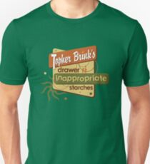 Inappropriate Starches T-Shirt