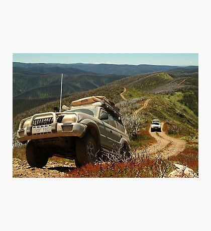 Mountain Driving, Blue Rag Range Photographic Print