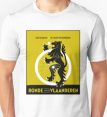 BICYCLES; Ronde Van Vlaanderen Advertising Print Unisex T-Shirt