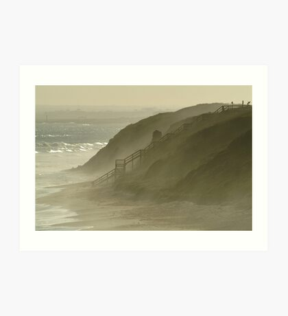 Sea Spray 13th Beach,Bellarine Peninsula Art Print