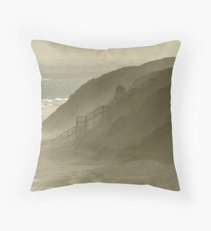 Sea Spray 13th Beach,Bellarine Peninsula Throw Pillow
