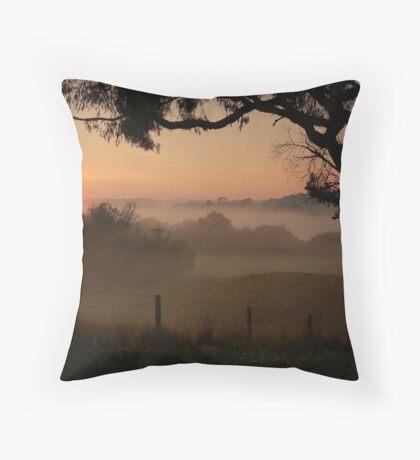 Otway Ranges Throw Pillow