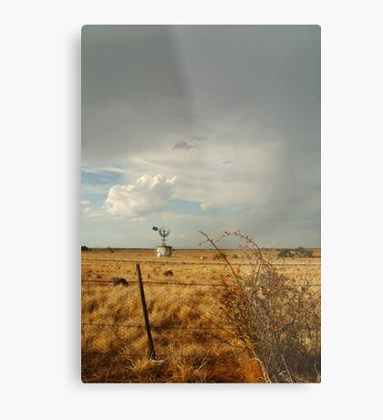 Passing Rain,Geelong District Metal Print
