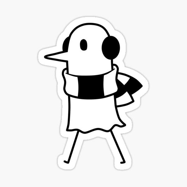 Cold PunPun ⛄❆❆ Sticker