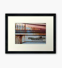 LandCruiser Framed Print